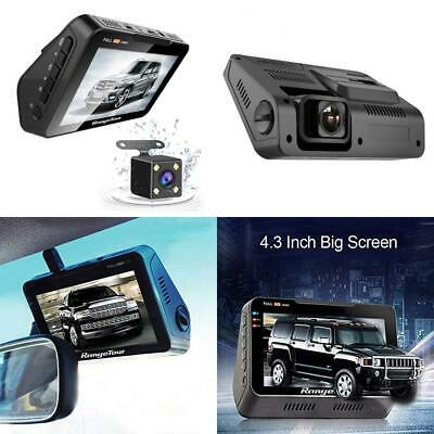 """Range Tour 2 In 1 Car Dash Camera,Rear View Monitor and Parking Camera 4.3""""..."""