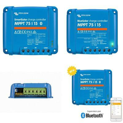 Victron SmartSolar MPPT 75/15 15A solar charge controller for panels...