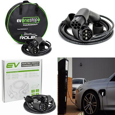 EV / Electric Vehicle Charging Cable | Type 2 to 2 | 32 Amp / 10 Meter