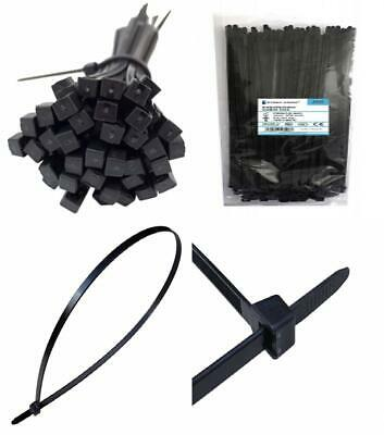 Cable Zip Ties Very Long - 750mm x 7.6mm, Heavy Duty, Durable Professional...