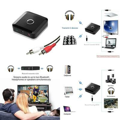 YETOR Bluetooth Transmitter for TV AUDIO PC MP4 /pair with 2 bt headsets...