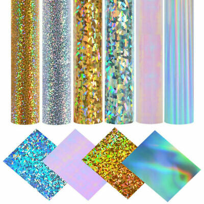 Self Adhesive Metallic Mirror Chrome Sign Vinyl Craft Sticky Paper Cricut Sheets