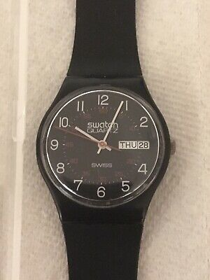 Vintage 1983 GB701 Swatch Watch VERY RARE Collectible NEVER WORN