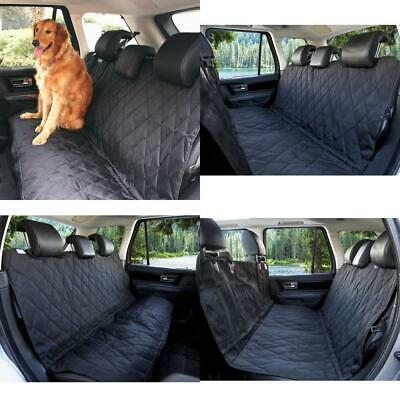 Pettom Car Dog Hammock Rear Seat Cover Waterproof Heavy Back L