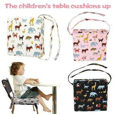 Adjustable Detachable Child Booster Seat Cushion Kids Dining Chair Durable Soft