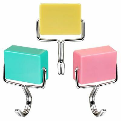 All-purpose Magnetic Hooks, Creative Super Strong Colorful Powerful Set Of 3