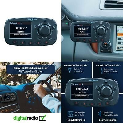 POPyourCAR 3.0 - DAB+ Radio with Bluetooth, Handsfree,Traffic Announcements