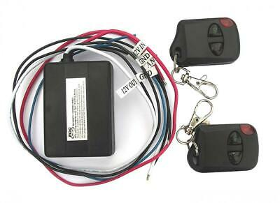 Cheetah 12V Remote Control Switch, 2 Keyfobs, 6A Max.