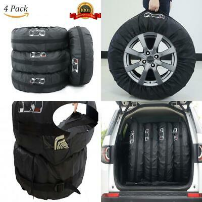 ELR Foldable 4x4 Spare Tire Covers 66 cm26 in Rain Resistant Tyres Tote M