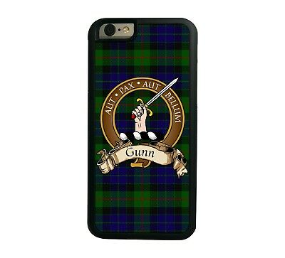 Gunn Scottish Clan Tartan Apple iPhone 7/8  iPhone 7/8 Plus case