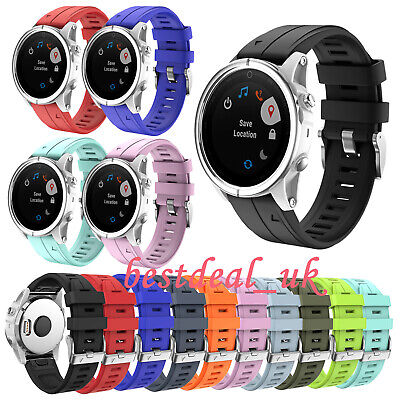 20MM Soft Silicone Rubber Strap Band Replacement for Garmin Fenix 5S / 5S plus