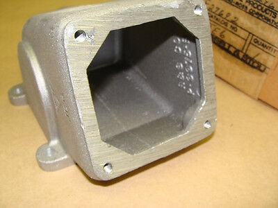 Russell Stoll JE6 Receptacle Outlet 20 Deg Angle Enclosure Wall Mount Back Box
