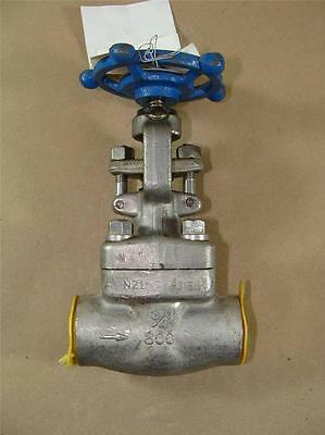 "New Sharpe 44836 Globe Valve 3/4"" Socket Weld 316 Stainless Cf8M 800# Cv= 3.8"