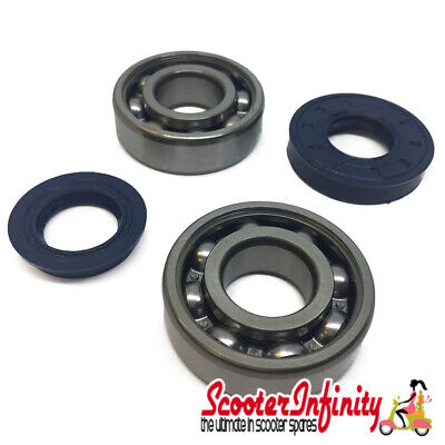 Crank, Bearing & Seal Kit (Aprillia, MBK - Yamaha JOG, Aerox and others)