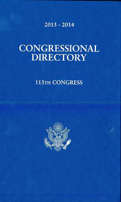 Official Congressional Directory 113th Congress, Convened J (Hardcover) NEW BOOK