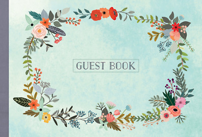 Guest Book: Illustrated Nature Edition (Hardcover) NEW BOOK