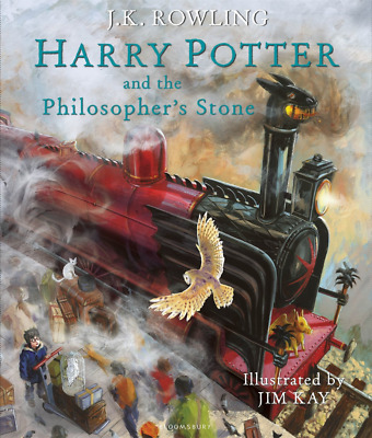 Harry Potter and the Philosopher's Stone: Illustrated Editi (Hardcover) NEW BOOK