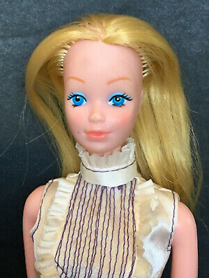 Mattel 1978-80 Canada And Europe Only Barbie Steffie Doll Model 7382 Phllippines