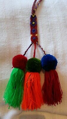 Mexican decorations pom pom tassels
