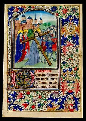 SIX Manuscripts EASTER.Book of Hours, Ghent, c. 1460. Artwork Re-Production  New