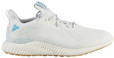 00a6213e09b25 Adidas Men s Alphabounce 1 Parley Trainers Boost Sneakers - CQ0784 White  Blue