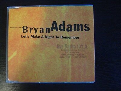 Bryan Adams Let ´S Make a Night CD Single Promotional A&m 1996