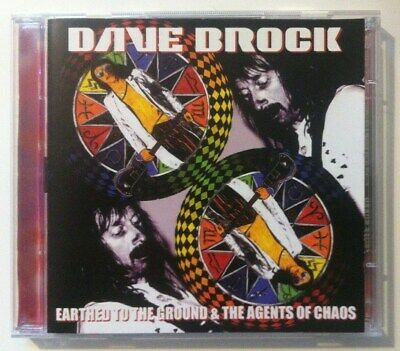 Dave Brock Geerdet zu The Ground & The Agents Of Chaos UK 2xcd Hawkwind 2003