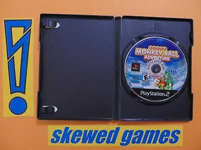 Super Monkey Ball Adventure - PS2 PlayStation 2 Sony