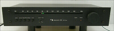 Nakamichi 430 Stereo FM Tuner, Very Clean, 1970, Very Compact, Rare