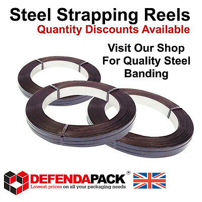 13mm 16mm 19mm BULK DISCOUNT STEEL STRAPPING MILL OSCILLATED WOUND BANDING REELS
