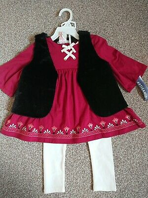 Artisan NY girls outfit costume size 1-2 years (12-18-24 month)