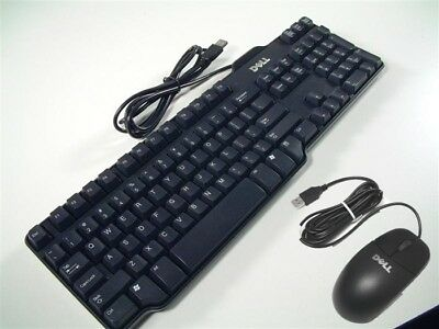 Genuine Dell  USB KEYBOARD AND OPTICAL MOUSE SET, QWERTY UK Layout