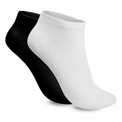 Ladies Womens Sports Gym Ankle Liner Cotton Rich Trainer Socks 3 Pair Size 4-7