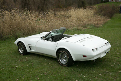 1974 Chevrolet Corvette CONVERTIBLE 454 AC 4 SPEED Chevrolet Corvette