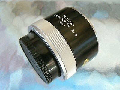Canon Extender Fd 2X-B For Canon Fd Lenses Less Than 300Mm *Tested & Mint