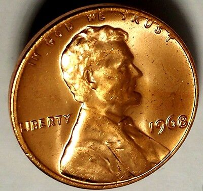 1968-P 1C Lincoln Memorial Cent 19lc0112-a  BU Only 50 Cents for Shipping*
