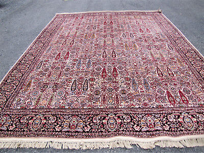 Antique Wilton Wool Arts & Crafts Rug  inv3480