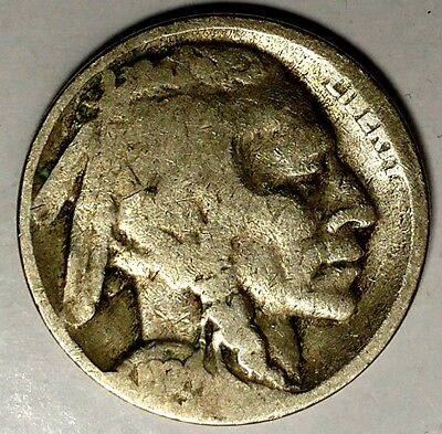 1934-D 5C Buffalo Nickel 18rr0209-2a Only 50 Cents for Shipping