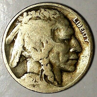 """1929-D 5C Buffalo Nickel, 18lsr2303 """"Only 50 Cents for Shipping""""*"""