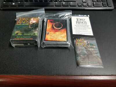 Decipher Lord of the Rings Trading Card Game Ents of Fangorn Faramir deck, Nice!