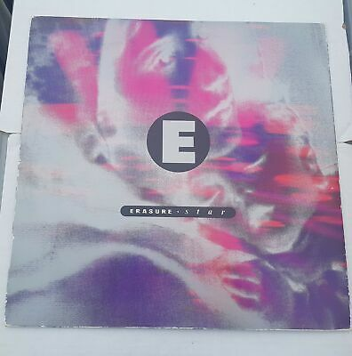 "Erasure - Star Remix 12"" Vinyl Record Pop Single L12MUTE 111 William Orbit"