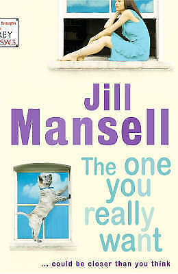 """""""VERY GOOD"""" The One You Really Want, Mansell, Jill, Book"""