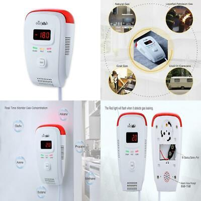 Gas Alarm Detector-Ourjob, Home Use Propane Butane Methane Monitor, Plug in...