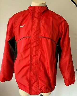 on sale cb721 d4b89 Men s Nike Jacket NSW Windbreaker Varsity Woven Jacket Size L Red