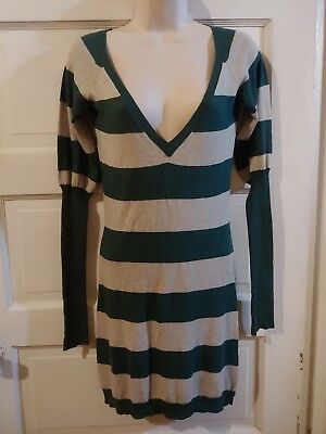 d5fbde16fd8 CHARLOTTE RUSSE LONG Maxi Tank Dress Mint Green Striped S -  8.99 ...