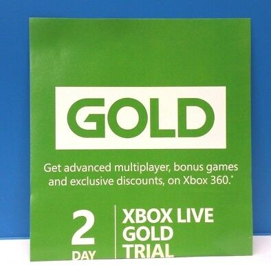 Xbox Live Gold 2 Day Trial 48 Hour Dlc Add-On #19
