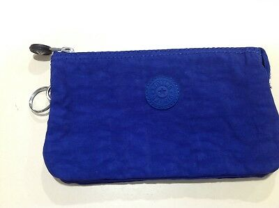 96692c205f Kipling Creativity Pouch Large Cosmetic Case Royal Blue 7x4 inches  Expandable