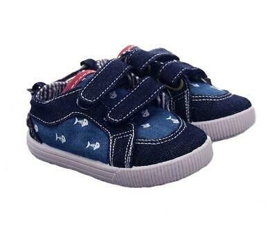 CC Baby Infant Fish Canvas Shoes Trainers