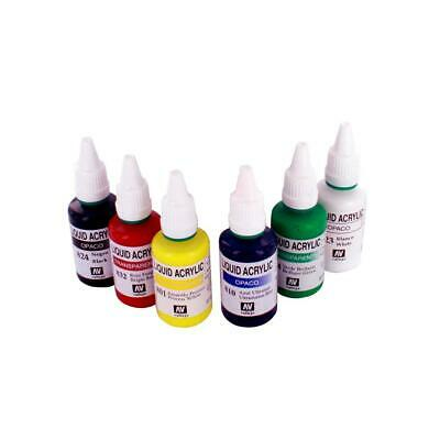 Spraycraft Acrylic Airbrushing Colour Set