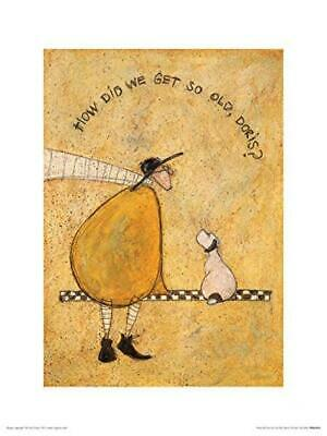 Art Group The How Did We Get So Old, Doris Sam Toft Print, Paper,...